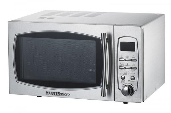 Micro-ondes GGG, 483 x 442 x 281 mm, acier inoxydable, 6 niveaux de puissance, puissance de micro-ondes: 900 W, Combi MW-900
